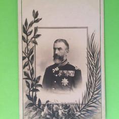 Familia Regala - Regele Carol - Carte Postala Muntenia 1904-1918, Circulata, Fotografie
