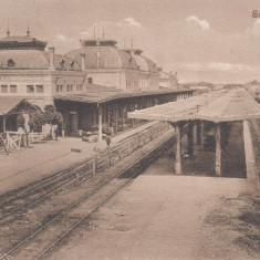PLOIESTI, GARA DE SUD, EDITURA IOAN DRAGU, PLOIESTI - Carte Postala Muntenia dupa 1918, Circulata, Printata