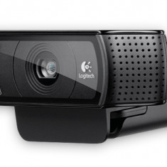 CAMERA WEB Logitech 1920x1080 Full HD, Webcam C920, 15MP Sensor, Microfon, Carl Zeiss lens, USB 2.0