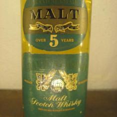 whisky grand alastir, 5 ani, MALTscotch wisky,  cl.75 gr. 40 ani 60