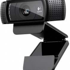 CAMERA WEB Logitech 1920x1080 Full HD, Webcam C920, 15MP Sensor, Microfon, Carl Zeiss lens, USB 2.0