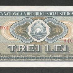 ROMANIA 3 LEI 1966 UNC - UNC [1] necirculata - Bancnota romaneasca