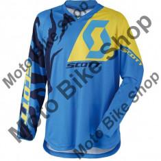 MBS SCOTT RENNLEIBCHEN 350 RACE BLUE/YELLOW, blau-gelb, XXL, 17/054, Cod Produs: 24690610542XLAU - Bluza barbati