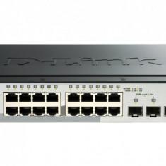 Switch SMART 16 porturi 10/100/1000M, 16 porturi Gigabit, 4 porturi SFP, Capacity 40Gbps, 16K MAC, 19