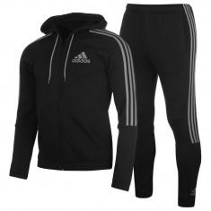 Trening Adidas Original din bumbac pantalon + hanorac adidas Three Stripe Jogger - Trening barbati Adidas, Marime: XXL, Culoare: Negru