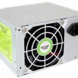 SURSA Delux 450W, Fan 8cm, Conector 20+4 pini, 2xSATA, 2xMolex, Switch ON/OFF DLP-23MS