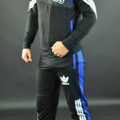 Trening ADIDAS barbati BUMBAC ultimul model aparut 2017 - Trening barbati Adidas, Marime: S, M, Culoare: Albastru, Rosu
