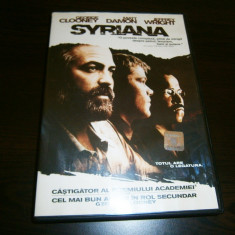 Syriana, DVD film cu George Clooney si Matt Damon, 2005! - Film drama warner bros. pictures, Romana
