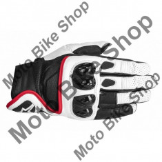 MBS Manusi piele Alpinestars Celer, alb/negru/rosu, 3XL=13, Cod Produs: 35670142133XLAU - Manusi moto
