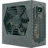 SURSA Fortron 500W (real) HEXA+, (max. 550W), fan 12cm, 80+ eficienta, fully sleeved, 1x CPU 4+4, 2x PCI-E 6+2), 5x SATA HE-500+
