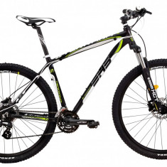 Bicicleta DHS Terrana 2927 (2017) Negru-Verde, 495mmPB Cod:21729274968 - Mountain Bike DHS, 19 inch, Numar viteze: 24