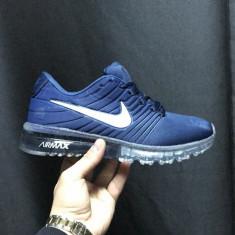 Adidasi Nike Air Max - Silicon - Adidasi barbati Nike, Marime: 40, 41, 42, 43, 44, Culoare: Bleumarin, Textil