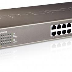 Switch 24 porturi 10/100, carcasa metalica 1U 19-inch, TP-LINK