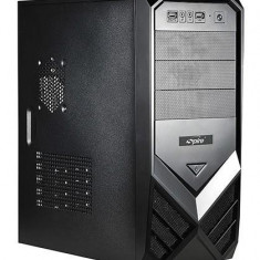 CARCASA Spire 420W, ATX., front USB & audio, suport 2x 80mm fan, black, sursa 420W