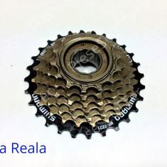 Grup - Bloc Pinion - Pinioane 7 Viteze - Pinioane Bicicleta Shimano - Piesa bicicleta