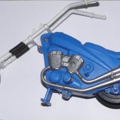 Macheta moto Chopper vintage cu mecanism, lungime 26 cm