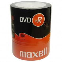 DVD-R blank 4.7GB 16x 100buc pe folie Maxell