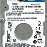"HDD Notebook 2.5"" 500GB 5400rpm 16M SATA3 WD - HDD laptop"