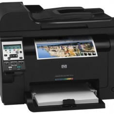 Multifunctional HP LaserJet Pro color 100, MFP M175; A4, max 16ppm black, 4ppm color, max 600x600dpi, HP ImageREt 2400, 128MB, fpo 15.5sec black, ... - Multifunctionala