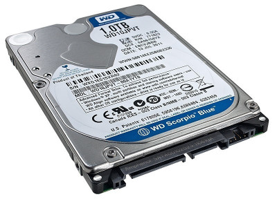 "HDD Notebook 2.5"" 1TB 5400rpm 8M SATA3 WD foto"