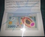 SV * Romania  BNR  2000  LEI  1999 * Pliant ECLIPSA TOTALA DE SOARE     POLIMER