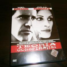 Teoria Conspiratiei, Film thriller warner bros. pictures cu Mel Gibson si Julia Roberts!, DVD, Romana
