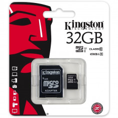 Card Kingston 32GB - Card memorie