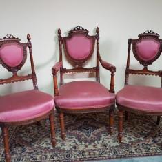 Set fotoliu cu 2 scaune