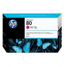 HP CARTUS C4847A, HP 80, M, 350ml, DJ1050, 1055 ORIGINAL