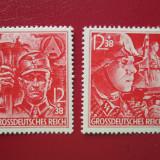 TIMBRE GERMANIA REICH SERIE CU GUMA NEUZATA=1945, Nestampilat