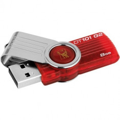 USB 8GB KINGSTON DATA TRAVELER Gen 2 (red)