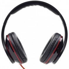 CASTI Gembird stereo cu microfon - dimensiune mare, (MHS-DTW-BK)