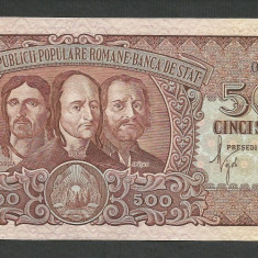 ROMANIA 500 LEI 1949 [01] a UNC - Bancnota romaneasca