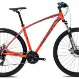 "Bicicleta Devron Men H0.7 M – 457/18"", Orange SplitPB Cod:217RM074543 - Mountain Bike Devron, 27.5 inch, Numar viteze: 24"