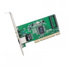 Placa Retea PCI 10/100/1000 Mbps Gigabit, 32bit, RealTek RTL8169SC chipset, 10/100/1000Mbps Auto-Negotiation RJ45 port, Auto MDI/MDX - Placa de retea Tp-link
