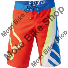 MBS FOX BOARDSHORT MOTION CREO, flame red, 32, 17/187, Cod Produs: 1888412232AU - Bermude barbati