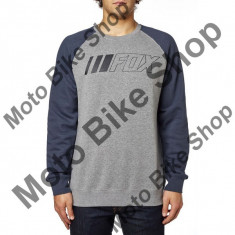 MBS FOX PULLOVER CREWZ, heather graphite, M, LE2017, Cod Produs: 19256185MAU