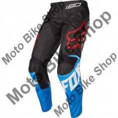 MBS FOX JUGEND RENNHOSE 180 SABBATH SE, blue-black, 22, 17/037, Cod Produs: 1993602322AU - Imbracaminte moto, Pantaloni