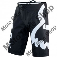 MBS FOX MTB SHORT DEMO DH, black-white, 34, 17/156, Cod Produs: 1593901834AU - Bermude barbati