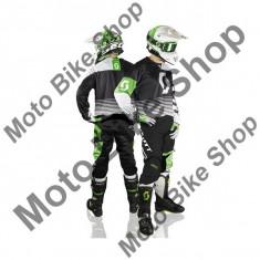 MBS SCOTT RENNHOSE 350 TRACK BLACK/WHITE, schwarz-weiss, 38, 17/053, Cod Produs: 246913100738AU - Imbracaminte moto, Pantaloni