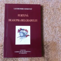 furtuna deasupra belgradului ljubomir simovic poeme poezie carte anthropos 2009