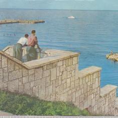 Bnk cp Eforie - Vedere spre largul marii - circulata - Carte Postala Dobrogea dupa 1918, Printata