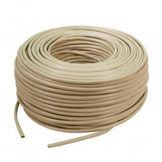 Cablu FTP LOGILINK, cat. 5e, 4x2 AWG 24/1, PVC, solid, 305m,