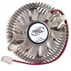 Cooler DeepCool VGA, Aluminiu, Hydro Bearing, dimensiuni Fan Ф50x10mm, Fan Speed 3400 RPM, Max. Air Flow 7.25 CFM, zgomot 20 dB(A),