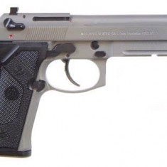 Replica KJW M9 Vertec Stainless arma airsoft pusca pistol aer comprimat sniper shotgun
