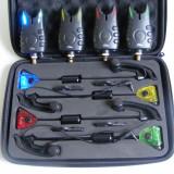 Set 4 Swingere MK3 cu penar + 4 Avertizori Senzori FL - Avertizor pescuit, Electronice