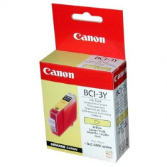Cartus cerneala Original Canon BCI-3Y Color, compatibil BC-31