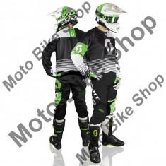 MBS SCOTT RENNHOSE 350 TRACK BLACK/WHITE, schwarz-weiss, 32, 17/053, Cod Produs: 246913100732AU - Imbracaminte moto, Pantaloni