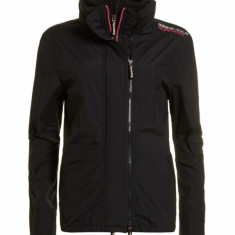 Geaca Dama Superdry Pop Zip Windcheater Black, Marime: 42, Culoare: Din imagine, Microfibra