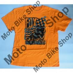 MBS FOX KINDER T-SHIRT BUILT UP, day glo orange, KM, LE2017, Cod Produs: 02410267MAU